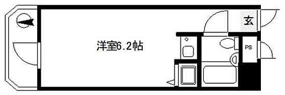 マンション(建物一部)-大阪市都島区都島北通2丁目 単身者向けのシンプルな間取り