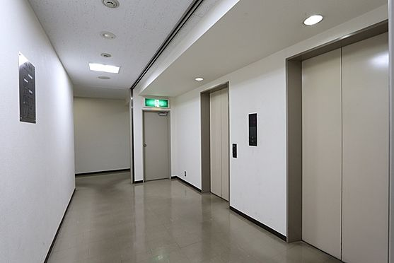 事務所(建物一部)-横浜市中区弥生町2丁目 エレベーターホール(共用部)