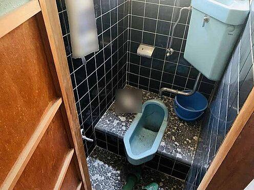 中古テラスハウス-京都市伏見区横大路下三栖山殿 トイレ