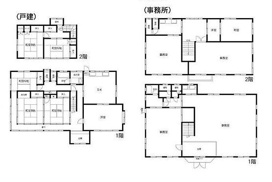 事務所(建物全部)-大網白里市永田 間取り