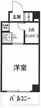 中古マンション-横浜市神奈川区台町 間取り