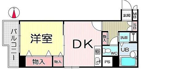 マンション(建物一部)-京都市東山区清水4丁目 間取り