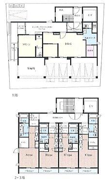 マンション(建物全部)-横須賀市三春町 間取り