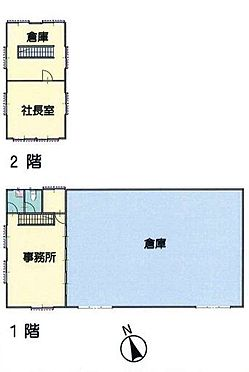 倉庫-木更津市貝渕4丁目 間取り