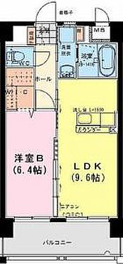 マンション(建物全部)-宮崎市柳丸町 間取り