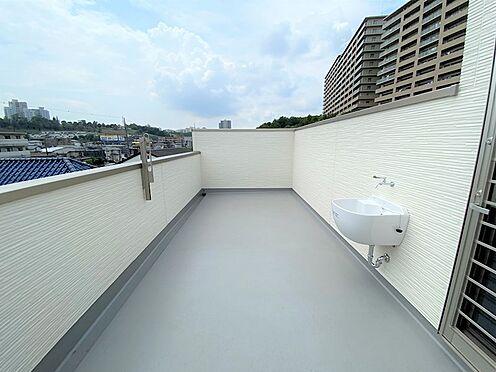 戸建賃貸-八王子市松木 塔屋部分 水栓付き