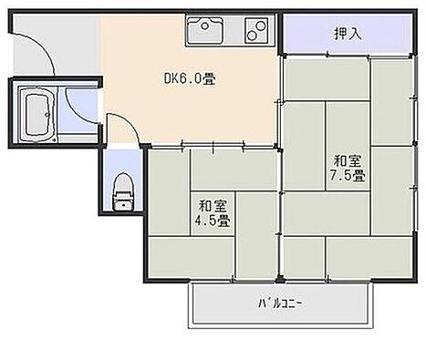 マンション(建物一部)-大阪市住之江区粉浜西3丁目 間取り