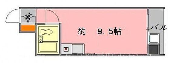 マンション(建物一部)-広島市中区加古町 間取り