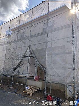 戸建賃貸-橿原市菖蒲町3丁目 建築工事が始まりました。大切な構造部分もしっかりご確認頂けます。モデルルームへのご案内も可能です。
