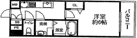 マンション(建物一部)-神戸市兵庫区中道通3丁目 間取り