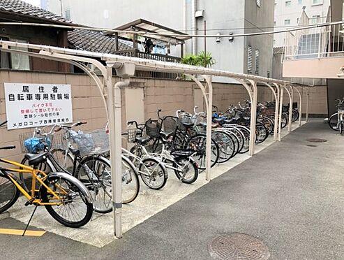 マンション(建物一部)-京都市上京区一色町 屋根付き駐輪場