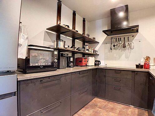 中古一戸建て-名古屋市緑区鏡田 L型キッチン!家事同線が良いのでお料理がよりスムーズに進めることが出来ます!