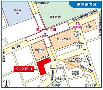 店舗・事務所・その他-港区南青山2丁目 地図