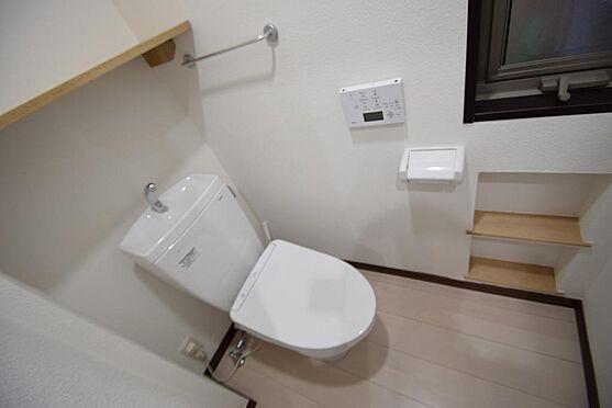 建物全部その他-江戸川区西瑞江3丁目 2018年4月撮影 所有者居住時 トイレ