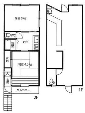 店舗付住宅(建物全部)-所沢市西狭山ケ丘1丁目 間取り