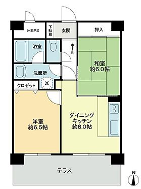 区分マンション-札幌市豊平区中の島一条7丁目 間取り
