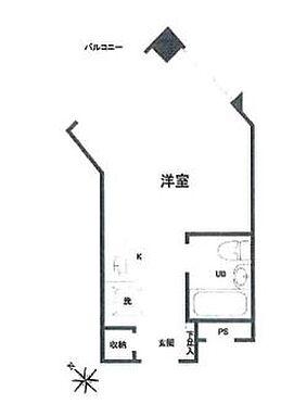 マンション(建物一部)-横浜市中区豆口台 間取り
