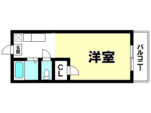 マンション(建物一部)-鹿児島市下荒田3丁目 間取り