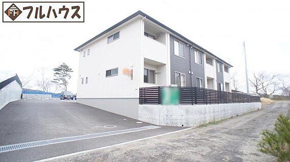 アパート-仙台市太白区上野山2丁目 現地外観写真