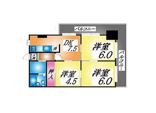 マンション(建物一部)-神戸市長田区菅原通5丁目 間取り