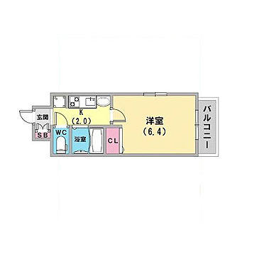 マンション(建物一部)-神戸市兵庫区水木通1丁目 間取り