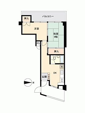 マンション(建物一部)-渋谷区上原2丁目 間取り