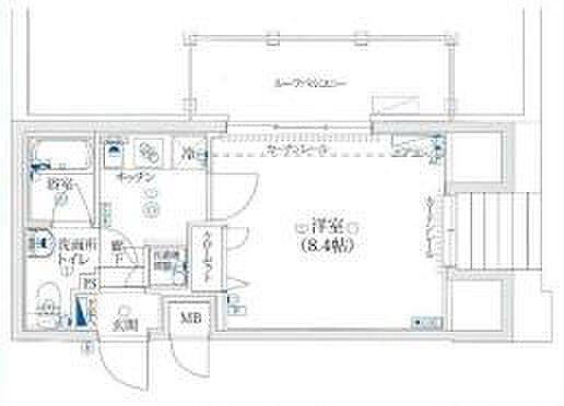 マンション(建物一部)-新宿区西落合2丁目 間取り