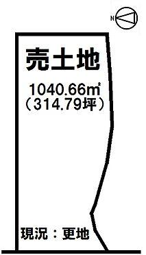 土地-磯城郡田原本町大字唐古 区画図
