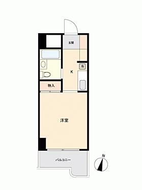 マンション(建物一部)-名古屋市天白区原 間取り