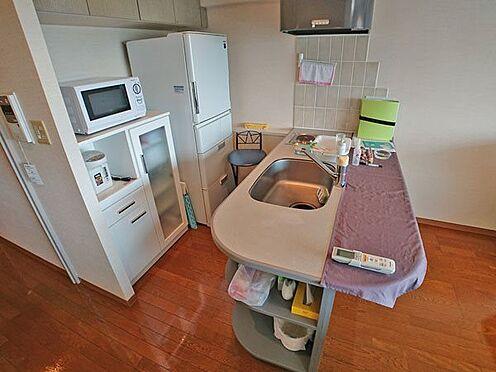 中古マンション-賀茂郡東伊豆町奈良本 対面カウンター付きのキッチンスペースです。