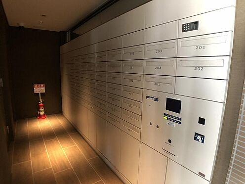 マンション(建物一部)-千代田区神田三崎町3丁目 プライバシーに配慮したデザインの宅配ボックス