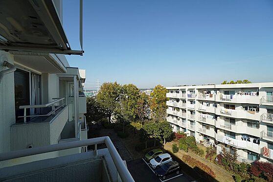 中古マンション-横浜市青葉区あざみ野3丁目 北側バルコニーからの眺望