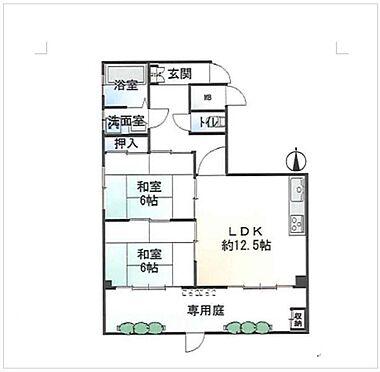 マンション(建物一部)-大和高田市大字市場 間取り