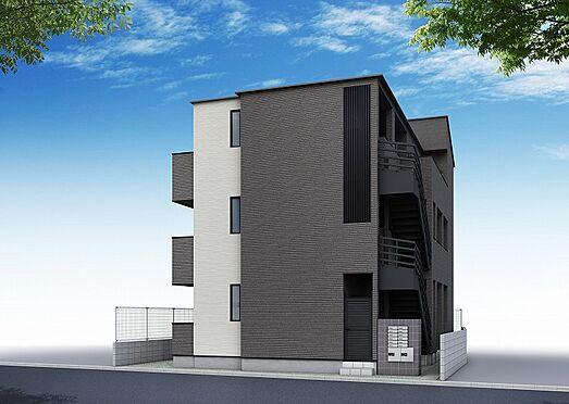 アパート-葛飾区宝町1丁目 完成予想パース