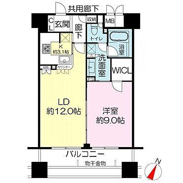 マンション(建物一部)-大阪市西区京町堀3丁目 間取り