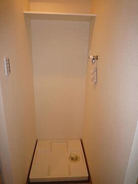 マンション(建物一部)-品川区荏原4丁目 室内洗濯機置場です。