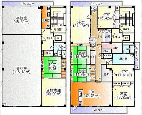 ビル(建物全部)-横浜市瀬谷区橋戸3丁目 3-4階間取り