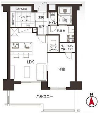 中古マンション-新宿区中落合3丁目 間取り