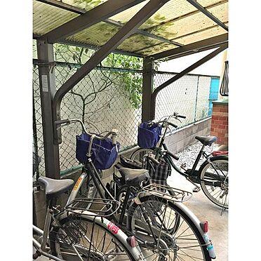マンション(建物一部)-大阪市住吉区長居3丁目 屋根付きの駐輪場