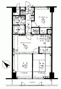 マンション(建物一部)-藤沢市片瀬海岸1丁目 間取り