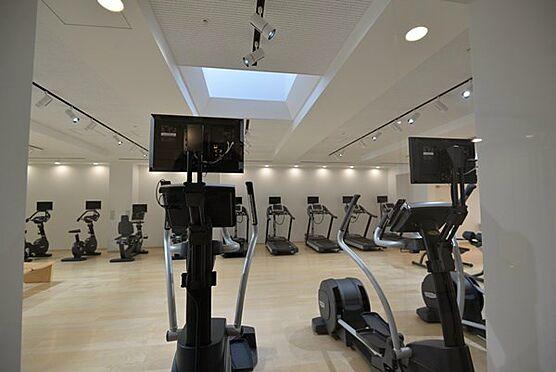 中古マンション-中央区勝どき5丁目 フィットネススタジオ。無料で毎日利用できます。