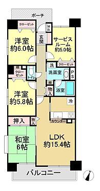 中古マンション-戸田市本町4丁目 間取り