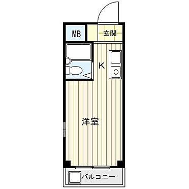 マンション(建物一部)-大阪市東淀川区相川2丁目 間取り