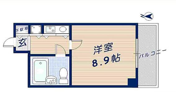 マンション(建物一部)-大阪市淀川区十三本町3丁目 間取り