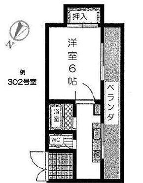 マンション(建物全部)-葛飾区細田3丁目 間取り