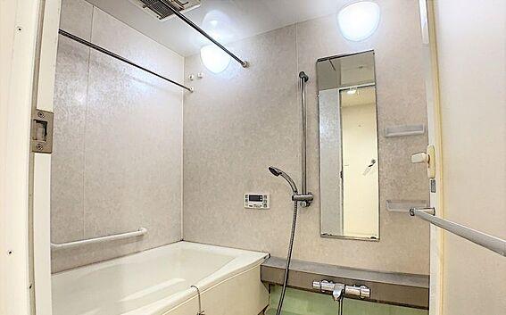 中古マンション-名古屋市守山区城土町 浴室乾燥機付きの為雨の日のお洗濯物も安心です