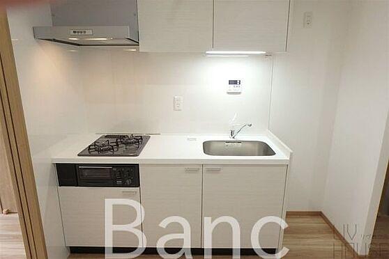 中古マンション-渋谷区本町3丁目 コンパクトながらも使いやすいキッチン