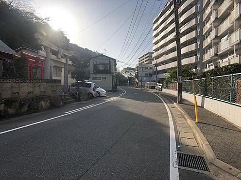 区分マンション-福岡市中央区港3丁目 前面道路写真1です。
