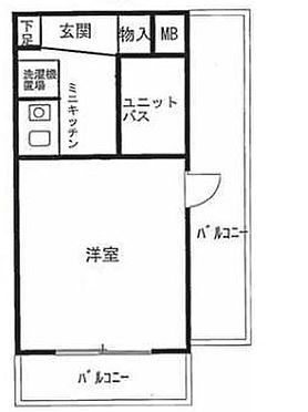マンション(建物一部)-横浜市鶴見区生麦3丁目 間取り