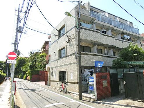 マンション(建物一部)-世田谷区弦巻4丁目 前面道路です。周辺は閑静な住宅街です。
